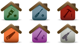 Maintenance & Security - Home Icons